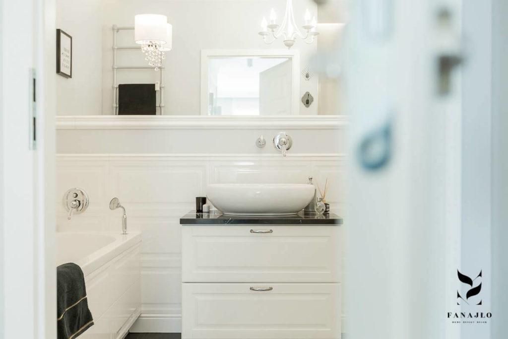 jak urządzić łazienkę w stylu modern classic