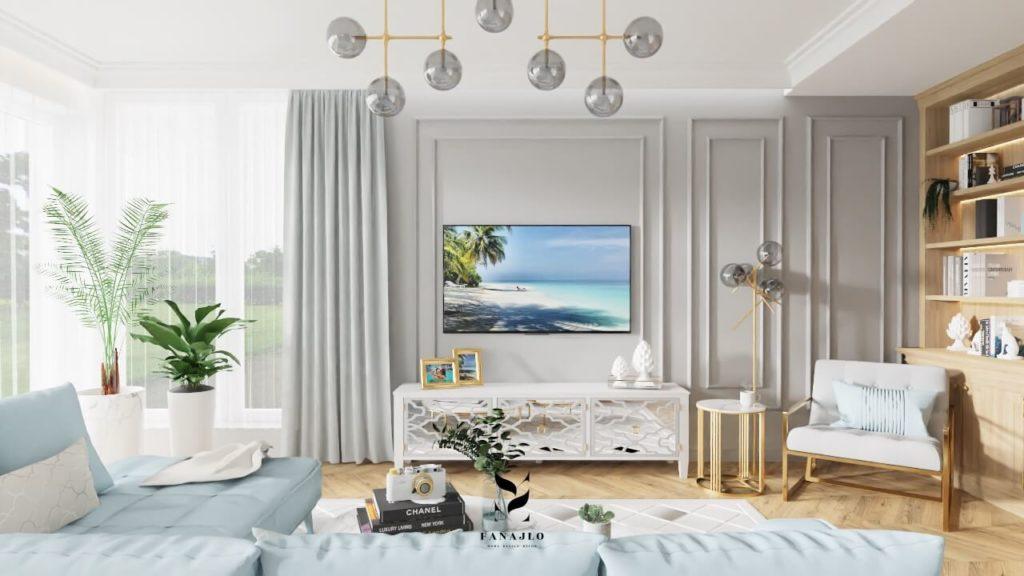 modern classic styl w mieszkaniu