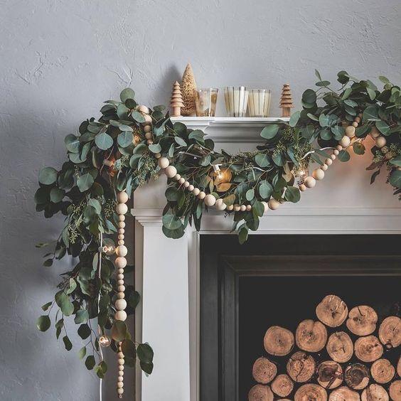 Dekoracje świąteczne w stylu eko 2019