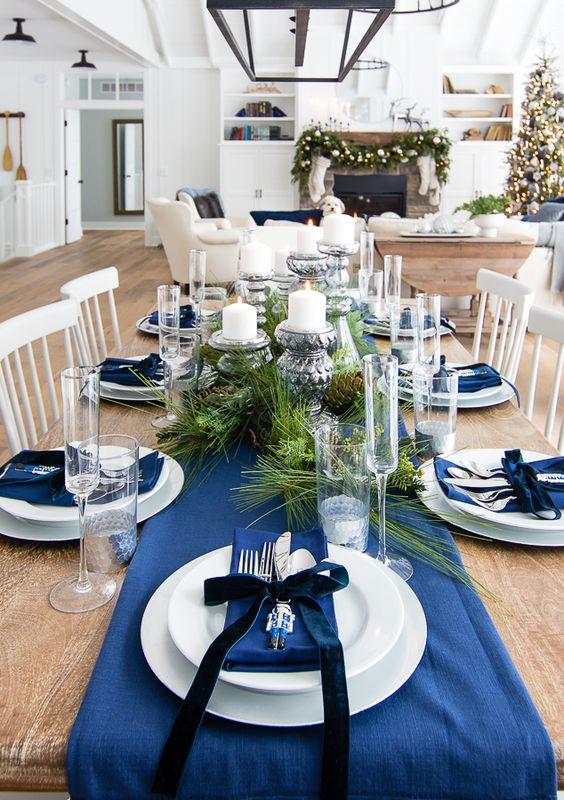 jak ozdobić świąteczny stół