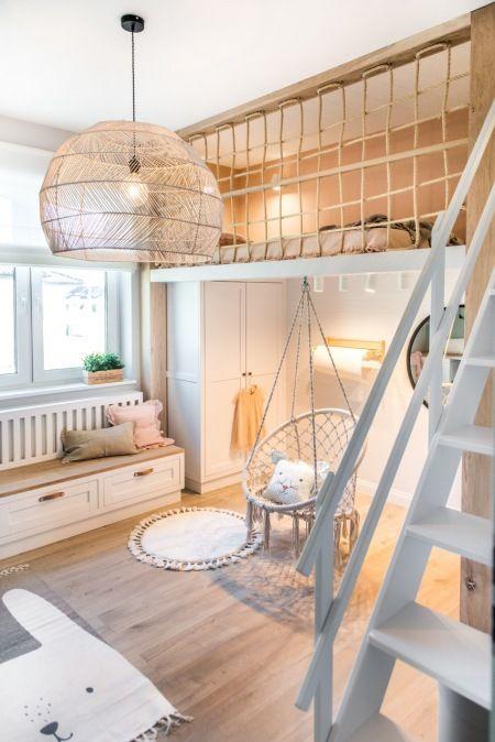 antresola w mieszkaniu inspiracje sypialnia