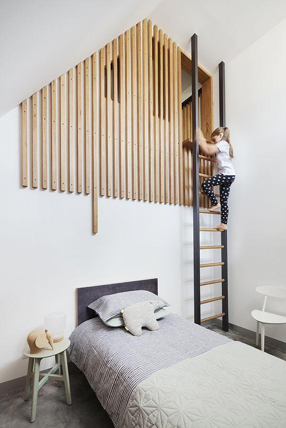 antresola w mieszkaniu inspiracje pokój dziecka